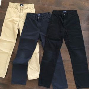 Boys Uniform Chino Pants Bundle Size 12 Slim